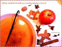 Almás sütőtök krémleves a mézeskalács ízeivel (diabetikus) Pear, Pudding, Apple, Fruit, Tableware, Desserts, Diet, Apple Fruit, Tailgate Desserts