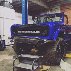 Custom One-Off Grill for 1975 Ford Bronco by Jaw Droppin Customs in Corpus Christi, Tx 2020 Bronco, Old Ford Bronco, Bronco Truck, Bronco Sports, Early Bronco, Jeep Truck, Classic Bronco, Classic Ford Broncos, Classic Trucks