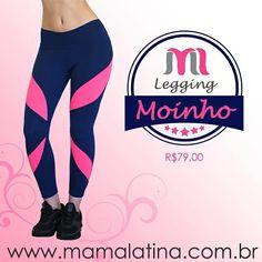 Oi meninassss !  hoje temos a Legging Moinho maravilhosa e arrasadora por esse precinho... Aproveite ! Garantimos que você vai amar a sua.   www.mamalatina.com.br   #legging #mamalatina #precinho #compras #atacado #varejo #ecommerce #roupafitness #roupaesportiva #esporte #saúde #moda #modaesportiva #modalities #fitness #academia #yoga #pilates #mulheresquetreinam #follow #look #ootd #projetomimis #treino #