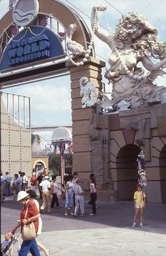 Entrance to the 1984 worlds fair in New Orleans