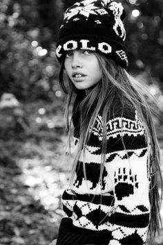 Thylane Blondeau. It's official..this 10 year old little French girl is cooler than 90% of the world's population.