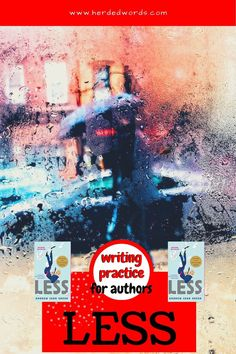 See examples of writing skills in the award-winning novel, LESS. Get exercises to practice writing and improve your next novel. Writing A Novel Tips, Start Writing, Writing Practice, Writing A Book, Writing Help, Fiction Novels, Fiction Writing, Novels For Beginners, Christian Retreat