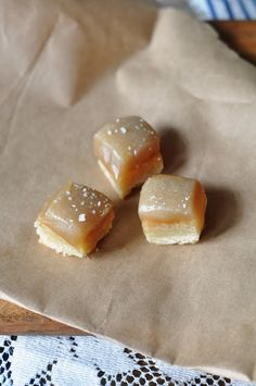 Recipe for Salted Caramel Shortbread Bites by Serendipity Refined