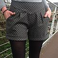 Spots and shorts Short Gris, Non Non, Couture, Patterned Shorts, Inspiration, Fashion, Gold Polka Dots, Panty Hose, Daughter