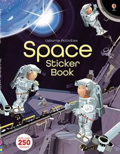 Buy Space Sticker Book by Fiona Watt at Mighty Ape NZ. A light-hearted look at space travel, with scenes showing the vastness of space, the inside of a space station, and the surface of the moon, plus hund. Space Books For Kids, Fiona Watt, Rainbow Resource, Astronauts In Space, Exploration, Illustrations, Illustration Styles, Book Illustration, Space Travel