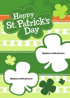 Send your FREE St. Patrick's Day Card if you have never used SendOutCards before. - Happy St. Patrick's Day Card, shamrock