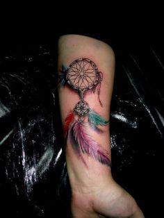 Dream Catcher Forearm - http://tattootodesign.com/dream-catcher-forearm/ | #Tattoo, #Tattooed, #Tattoos