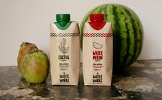 Alternative waters such as kaktus water or maple water are the new superfoods and an easy way to increase your intake of nutrients. Cactus Water, Water Plants, Food Trends, Kombucha, Coconut Water, Watermelon, It Works, Clean Eating, Drinks