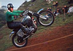 Jerry Scott Vintage Motocross, Street Bikes, Scrambler, Offroad, Old School, Racing, Hero, Motorcycle, Vehicles
