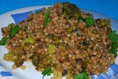Aprendiz Vegana: Sarraceno com Brócolos e Cogumelos