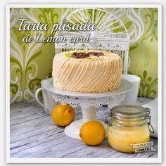 Lemon Curd Pleated Layer Cake