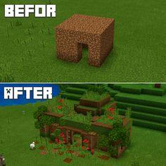 Project Minecraft, Craft Minecraft, Images Minecraft, Minecraft Farm, Minecraft Mansion, Minecraft Cottage, Easy Minecraft Houses, Minecraft House Tutorials, Minecraft Plans