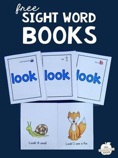 Woodworking Program Print these four free books to help your students learn the sight word LOOK! - Print these four free books to help your students learn the sight word LOOK! Preschool Sight Words, Teaching Sight Words, Sight Word Practice, Sight Word Activities, Phonics Activities, Word Games, Pre K Sight Words, Kindergarten Worksheets, Sight Word Booklets