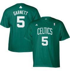 adidas Men's Boston Celtics Kevin Garnett #5 Kelly Green Gametime T-Shirt - Dick's Sporting Goods