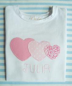 chiacreativa.blogspot.com.es Camiseta Patchwork. Para la pequeña de la casa...