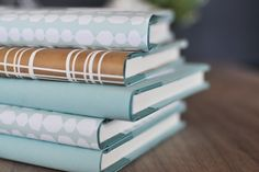 DIY book covers (perfect for those used books you buy).