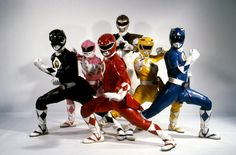 Mighty Morphin' Power Rangers. The movie uniforms were badass!!! (Except for Kimberly's helmet)