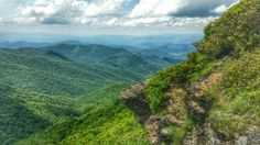 Craggy gardens pinacle trail NC