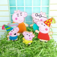 Peppa Pig cake topper | Cookie Connection