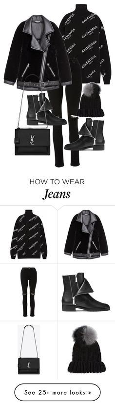 """Untitled #22931"" by florencia95 on Polyvore featuring Balenciaga, Michael Kors, Yves Saint Laurent and Eugenia Kim"