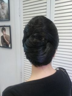 Simple and refined #updo