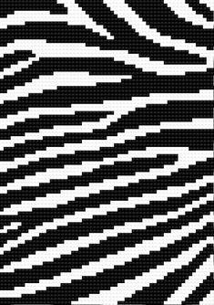 Zebra (stripes, mosaic, black and white) Cross Stitch Love, Cross Stitch Borders, Cross Stitch Alphabet, Cross Stitching, Cross Stitch Patterns, Knitting Charts, Knitting Patterns, Tapestry Crochet Patterns, Pixel Pattern