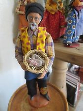 French Santon of Provence, Man with Eels