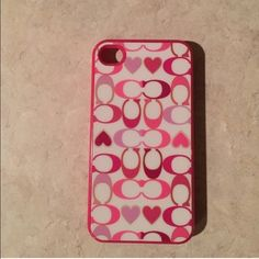 Coach iPhone 4S Case Great condition, used for one season. Authentic. Will send my other 4S cases for free. Coach Other