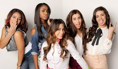 New girl group Fifth Harmony (formerly LYLAS and 1432), who was assembled at the end of Boot Camp by THE X FACTOR powers-that-be. Description from last.fm. I searched for this on bing.com/images