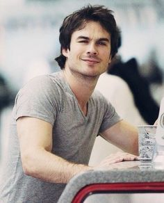 Elena:Why you don't let people see the good in you? Damon:Because when people see good,they expect good.And I don't want to have to live up anyone's expectations