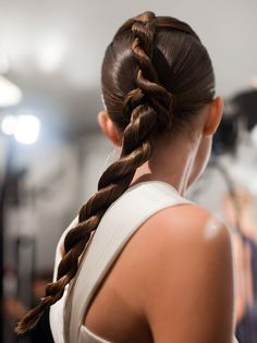 Backstage at Mathieu Mirano New York Fashion Week S/S 2013 _