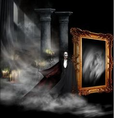 Holy crap, that's awesome. Phantom of the Opera. I think this could represent the ten long years Erik waited for Christine... Love Never Dies