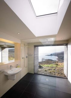 The Tigh Port na Long house on the Isle of Skye in Scotland - A project completed by Dualchas Architects. The team of Dualchas Architects has completed the