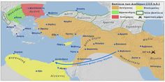 The First War of the Diadochi - About History Alexander City, Alexander The Great, Military Intervention, Palmyra, Ephesus, Susa, City State, World History, Alexandria