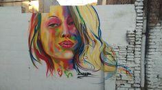 Arte Callejero. Grafitis. Barrio Lagunillas (Málaga)