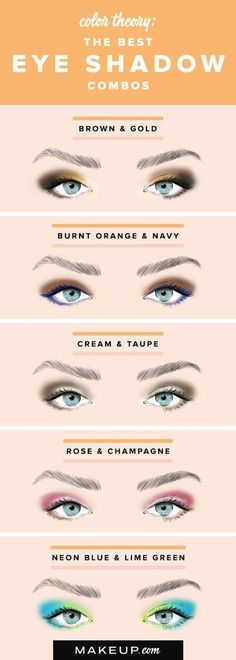 18 Eye Makeup Cheat Sheets If You Don't Know WTF You're Doing