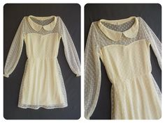 Lace Moment - Sweet Dress. $32.90, via Etsy.