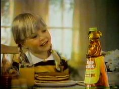 COMMERCIAL Mrs. Butterworth's - Thick and rich (1979) The talking bottle lady always creeped me out!