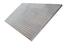 Diamond Life HPB2448.B PegBoard X2 2ft x 4ft Brushed Aluminum Capacity- Half Ton
