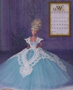 1997-Miss März der königlichen Ballgowns Annie Potter Crochet