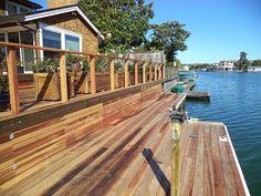 Belvedere Redwood Deck