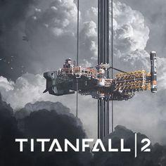 Titanfall 2 Space Elevator Concept, Danny Gardner on ArtStation at https://www.artstation.com/artwork/4dXN8