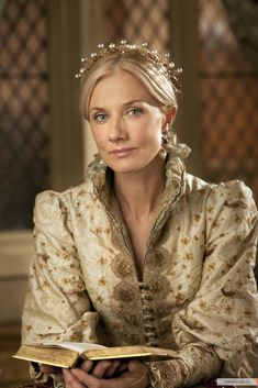 The Tudors --- Queen Catherine Parr, the last of the six wives of King Henry VIII of England