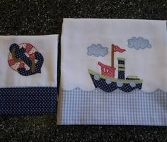 Resultado de imagen para fraldas bordadas para bebe marinheiro