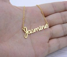 Handmade Custom Jewelry Any Personalized Name Necklaces Women Men Silver Gold Rose Choker Necklace Engraved Bridesmaid Gift Idea  #gift #quote #coffeemug #presentforboyfriend #birthdaygifts #giftsforhim #coffee #anniversarygifts #quotesandsayings #birthdaywishes