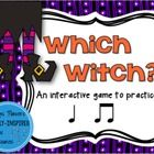 "Do you need a fun way to aurally practice and assess the rhythms Ta (quarter note) and Ti-Ti (eighth notes)? In ""Which Witch?,"" students must find the witch tapping the rhythm pattern they hear.  Included in this set: 1. Directions for use  2. Answer Key  3."