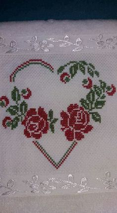 1 million+ Stunning Free Images to Use Anywhere Cross Stitch Heart, Cross Stitch Alphabet, Cross Stitch Flowers, Cross Stitch Embroidery, Cross Stitch Designs, Cross Stitch Patterns, Baby Knitting Patterns, Crochet Patterns, Hand Embroidery Design Patterns