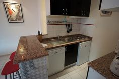 Valmy apartment kitchen