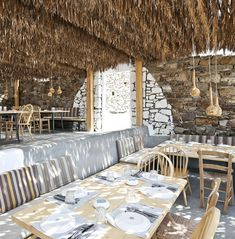 Restaurante Alemagou na ilha de Mykonos — Referans