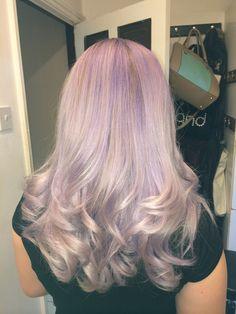 Hair by me #hair #dustypurple